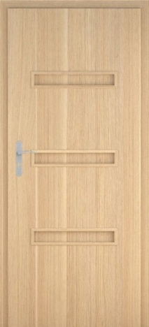 Usa interior Century - Natural oak vertical - model 5