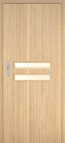 Usa interior Century - Natural oak vertical - model 2