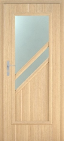 Usa interior Antiope - Natural oak vertical  - model 2