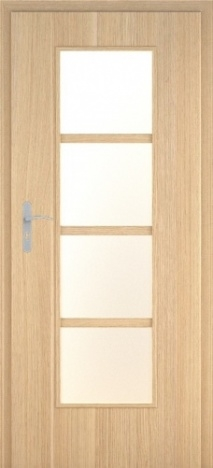 Usa interior Demeter - Natural oak vertical - model 5