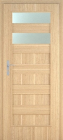 Usa interior Leto - Natural oak vertical - model 2