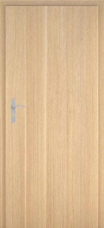 Usa interior Century - Natural oak vertical - model 1