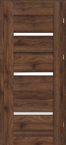 Usa interior Magnetic - Columbia walnut dark - model 8